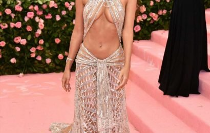 Emily Ratajkowski dazzled in naked dress at Met Gala that was inspired by Cher
