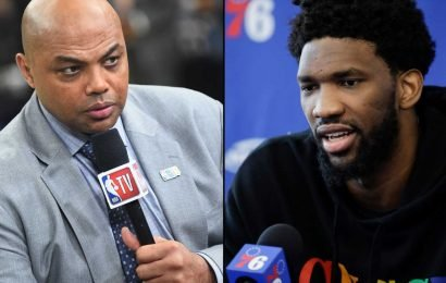 Charles Barkley fires back at Joel Embiid for saying Barkley doesn't know what he's talking about