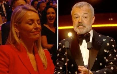 BAFTA TV Awards 2019: Tess Daly mortified as Graham Norton makes HUGE Strictly swipe
