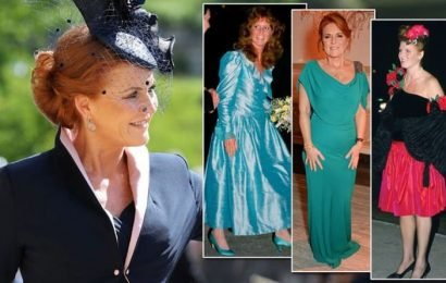 Sarah Ferguson's best and worst fashion moments in pictures