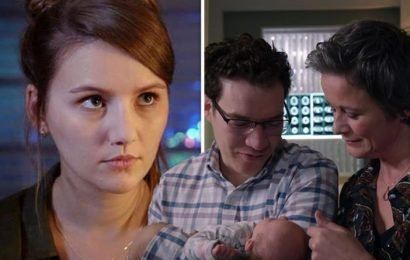 Holby City spoilers: Jason and Greta Haynes set for turmoil over baby Guinevere?