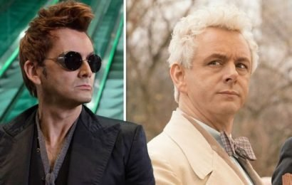 Good Omens: 'Couldn't comment!' David Tennant teases character ROMANCE fans will love