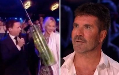 Ant McPartlin and Declan Donnelly poke fun at Simon Cowell's 'Botox' in BGT dig