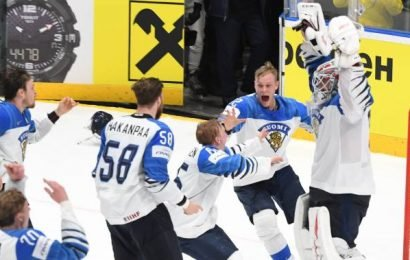 Finland defeats Canada to win gold medal at hockey world championship