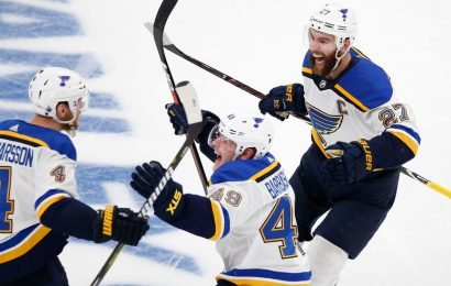 Blues Beat the Bruins and Get Their First Stanley Cup Finals Victory