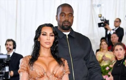 Kim K. Looks Super Sexy With Kanye West Ahead of Baby No. 4's Arrival