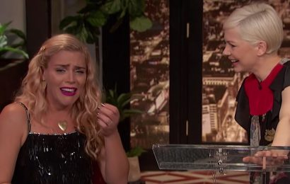 Watch Michelle Williams Make Busy Philipps Cry on the 'Busy Tonight' Finale