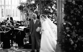 'We hope you enjoy reliving the moment' – Harry and Meghan celebrate their first wedding anniversary by releasing unseen photos