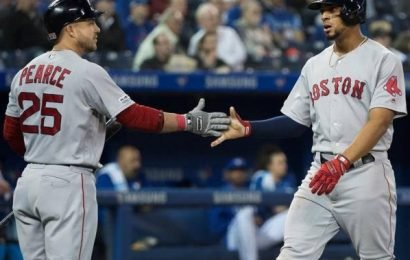 Red Sox blast Blue Jays 8-2 in matinee