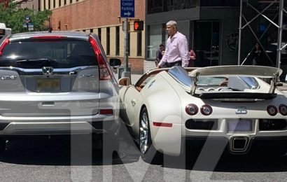 Tracy Morgan's Brand New Bugatti in Crash Minutes After Purchase