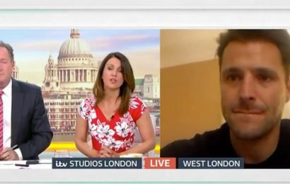 Mark Wright hangs up on interview with Piers Morgan live on GMB after taunts