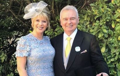 Ruth Langsford's nasty injury in fall on day out with husband Eamonn Holmes