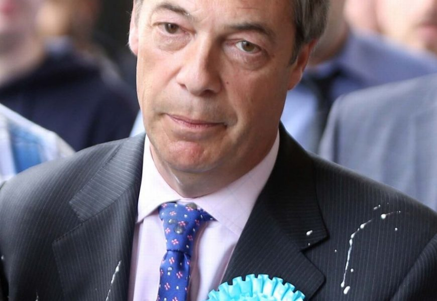 Fundraiser launched to help Nigel Farage's milkshake attacker cover court costs