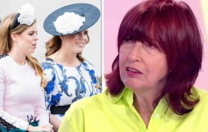 ITV Loose Women: Janet Street-Porter jibes at 'peripheral' royals Beatrice and Eugenie