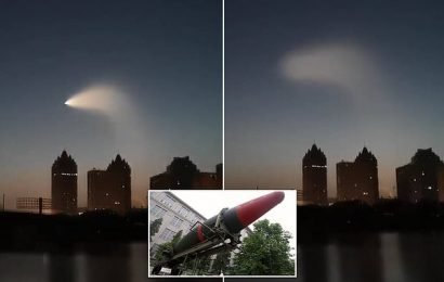 Beijing is speculated to have tested a hypersonic nuclear missile