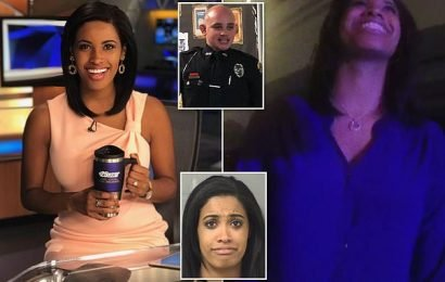 Black anchorwoman mocks police while being arrested for DUI
