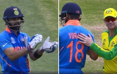 Virat Kohli tells fans to stop booing Steve Smith at Cricket World Cup