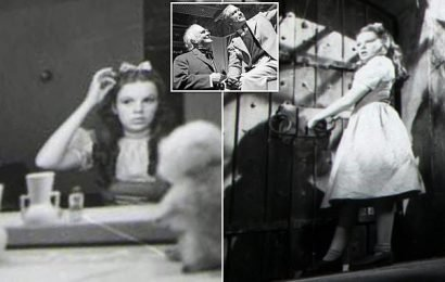 Photographs of Judy Garland, 17, on Wizard of Oz set go up for auction