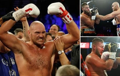 Tyson Fury dominates Tom Schwarz, winning by TKO in round 2