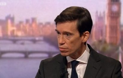 Rory Stewart accuses Boris Johnson of hiding from the public