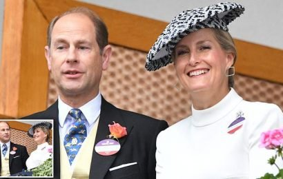 Prince Edward and Sophie Wessex celebrate 20th wedding anniversary
