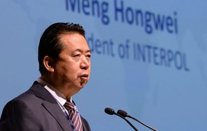 Ex-Interpol chief 'pleads guilty' to taking £1.65m in bribes in China