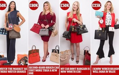 Forget the stockmarket. Meet women who make a mint off handbags
