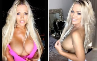 World's hottest gran accuses Instagram of 'ageism' after they remove her topless snap