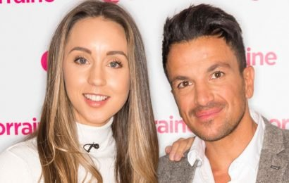 Peter Andre jokes wife Emily banned him from sex after he caught baby fever