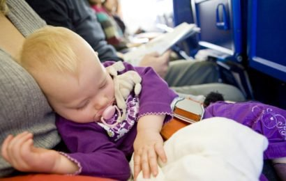 You probably shouldn't take your baby on a long-haul flight