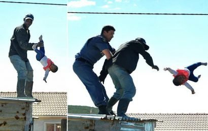Father who threw his baby from a roof walks free from court
