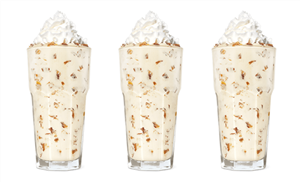 Burger King's New Vanilla Shake Made With Twix Pieces Is The Perfect Candy Fix
