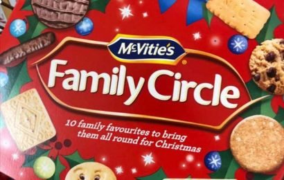 Shoppers shocked to find Christmas biscuits on sale in Sainsbury's SIX months early