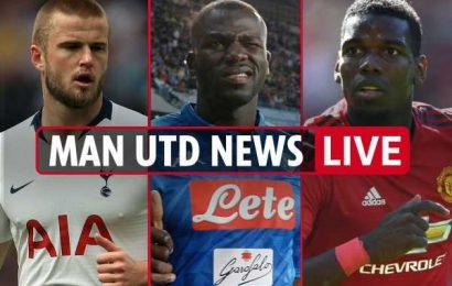 10.20am Man Utd transfer news LIVE: Real Madrid want Eriksen over Pogba, Koulibaly £84m bid, Dier could replace Matic