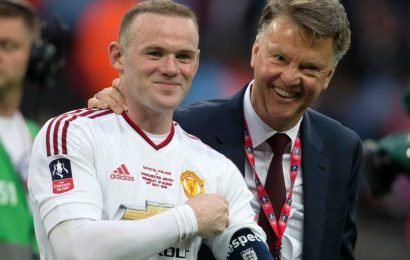 Rooney claims Van Gaal is 'by far' best boss he's played under – ahead of Man Utd legend Ferguson and 'Special One' Mourinho