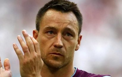 Is John Terry at Aston Villa and what is his role? Former England and Chelsea captain is taking part in Soccer Aid 2019
