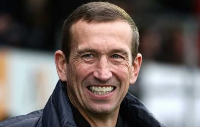 Leyton Orient boss Justin Edinburgh rushed to hospital after 'unexpectedly falling ill'