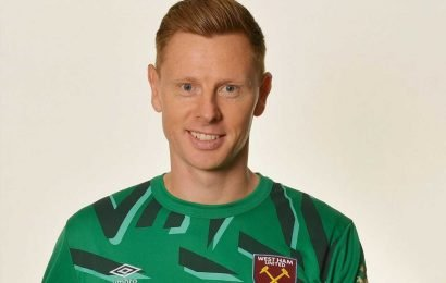 West Ham sign legend Alvin Martin's goalkeeper son David just days after snapping up stopper Roberto