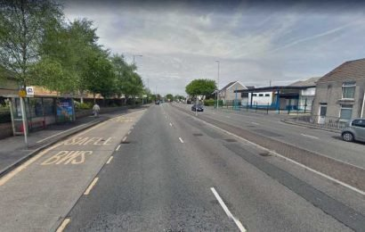 Four-year-old kid found wandering alone in a onesie next to busy dual carriageway at dawn