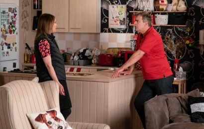 Coronation Street spoilers: Steve McDonald hatches a new business plan after Tracey surprises him with a special birthday tea