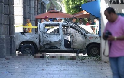 Tunisia terror attack – Suicide bomber blows himself up at French embassy in Tunis and 'second bomber on the run'
