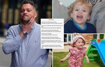 Steven Ford whose wife killed twin toddlers posts heart-wrenching poem saying 'my name's no longer dad' ahead of Father's Day
