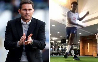 Lampard boost with Hudson-Odoi to return early from injury… but Chelsea fending off fresh transfer bid from Bayern Munich