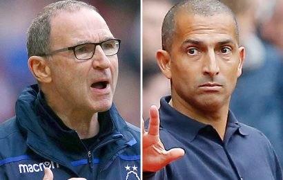 Nottingham Forest sack Martin O'Neill… and appoint Sabri Lamouchi as new boss just 20 minutes later