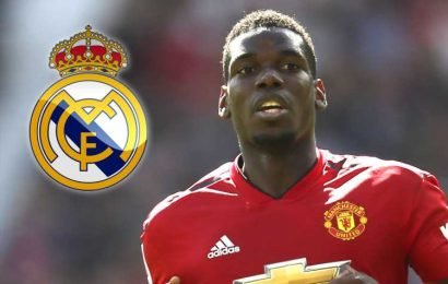 Man Utd and Real Madrid just £15m apart in Paul Pogba valuation but Red Devils refuse to negotiate on £150m transfer fee