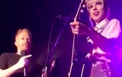 Taylor Swift Gave A Surprise Performance At Stonewall Inn (But Where Was Lindsay Lohan?)