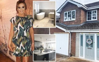 Inside Maria Fowler's classy Derbyshire home after incredible renovation