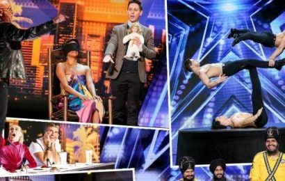 'America's Got Talent' Fifth Judge: Golden Buzzer Act Has Howie Mandel Literally Climbing on the Table