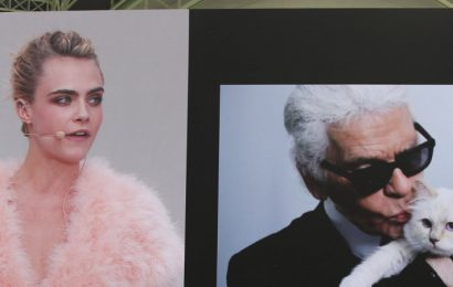 A-list attends Paris fashion week tribute to Karl Lagerfeld