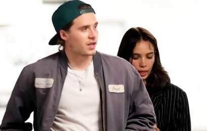 Brooklyn Beckham Opens Car Door For Girlfriend Hana Cross After Dinner in LA